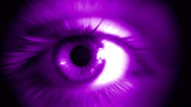 Human Eye (Purple) video