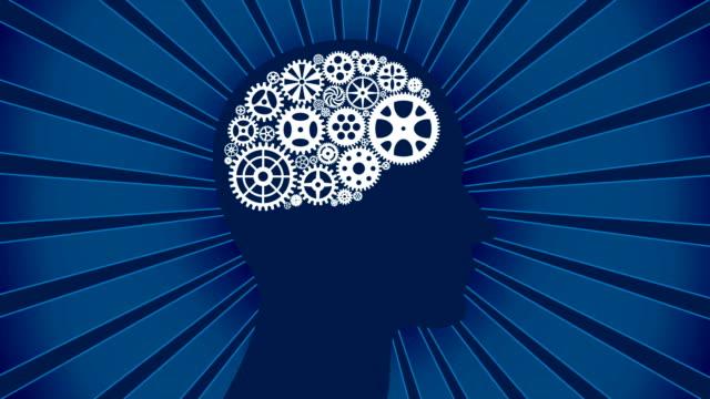 Human Head with Gears video
