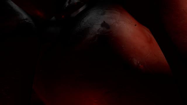 ludzki narządy - serce człowieka filmów i materiałów b-roll