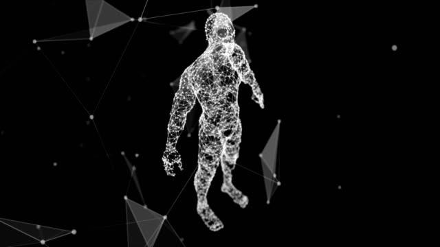 human system reveal - corpo video stock e b–roll