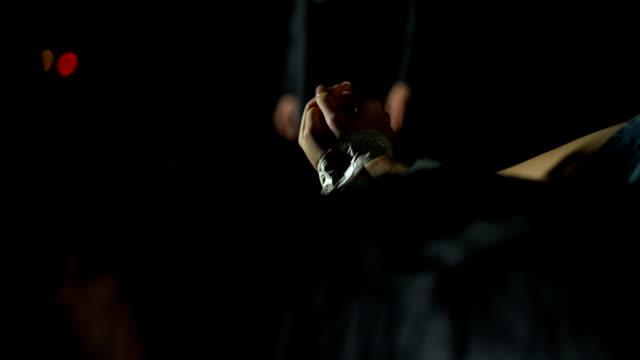 Human trafficking, criminal receiving money for kidnapped girl in car trunk Human trafficking, criminal receiving money for kidnapped girl in car trunk human trafficking stock videos & royalty-free footage