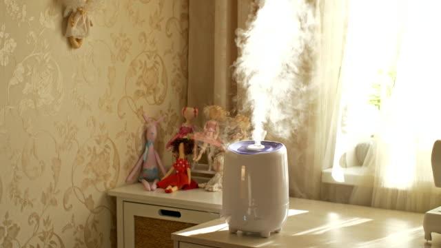 室内加湿器 - 加湿器点の映像素材/bロール