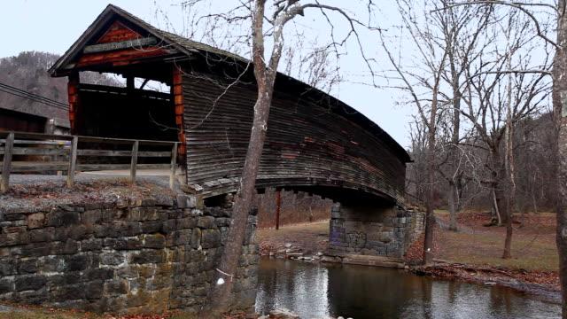 Humpback Covered Bridge in Virginia, Verenigde Staten video
