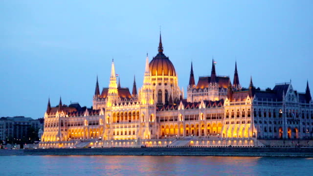 Hungarian parliament video