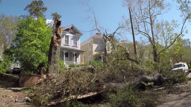 orkanen florence efterdyningarna - illavarslande bildbanksvideor och videomaterial från bakom kulisserna