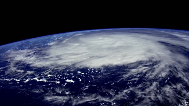 Hurricane from Space video