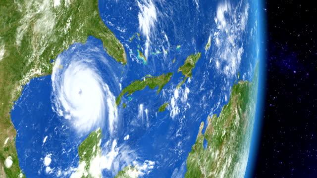 Hurricane Katrina from space video