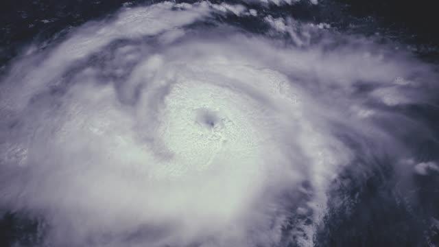 颶風風暴龍捲風,衛星視圖。由美國太空總署提供的這段影片元素 - golden ratio 個影片檔及 b 捲影像