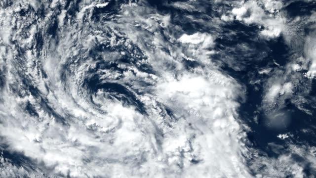 颶風風暴龍捲風, 衛星看法。nasa 提供的這段視頻的一些元素。 - golden ratio 個影片檔及 b 捲影像