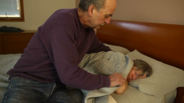 Husband Comforts Wife video
