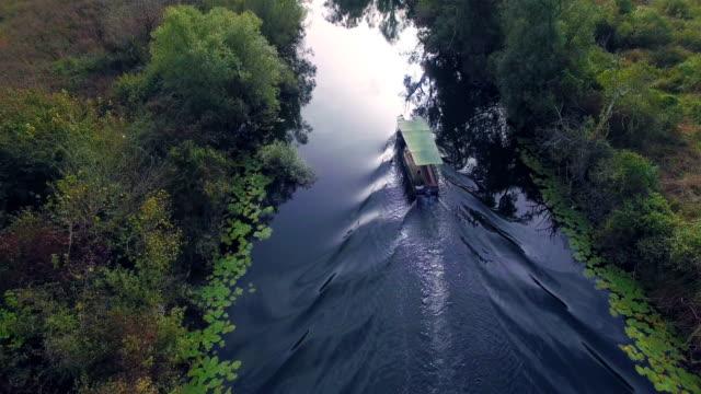 Hutovo blato - nature park - Panorama boat on the river 11 video