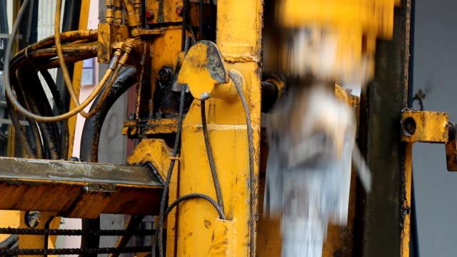 hydraulic crawler rock drill video