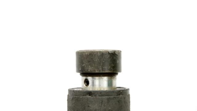impianto idraulico - lega metallica video stock e b–roll