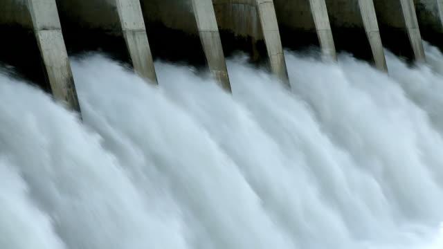 Hydroelectric Dam spillway