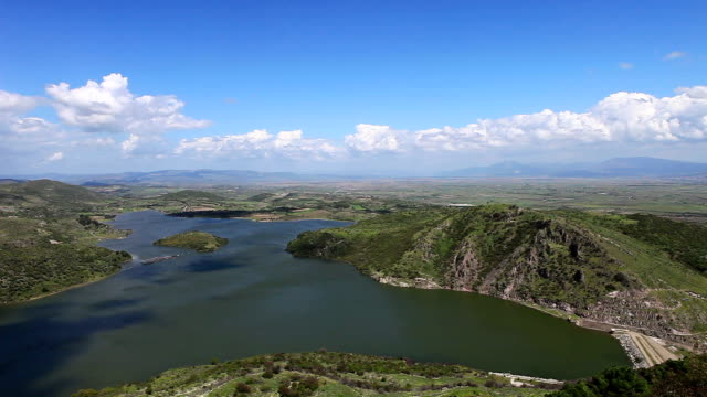 HD: Hydroelectric Dam,**Time lapse** , Bergama, TURKEY video
