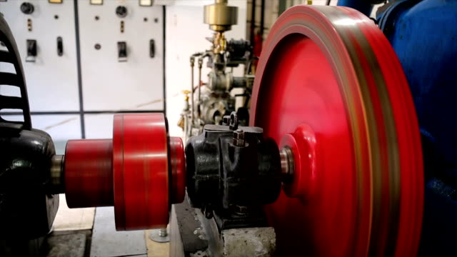 vídeos y material grabado en eventos de stock de sistema hidroeléctrico turbine.rotor y estator - generadores