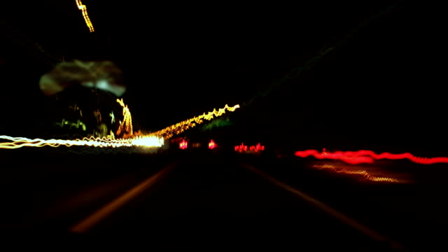 Hyper night drive. video