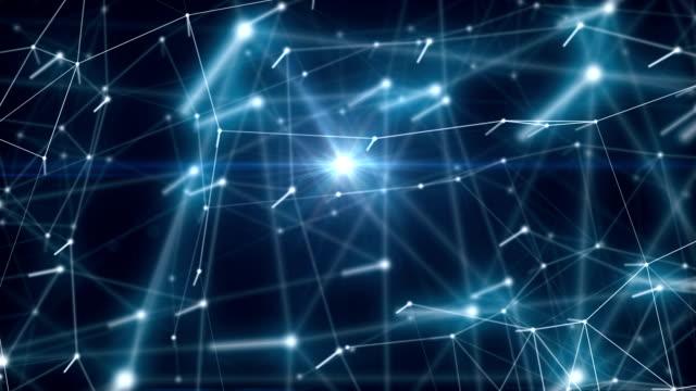 Hypercube 3d particles video