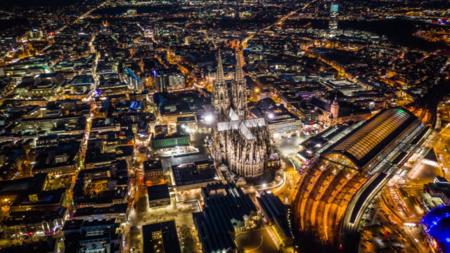 Hyperlapse : Cologne Cathedral and Central Station