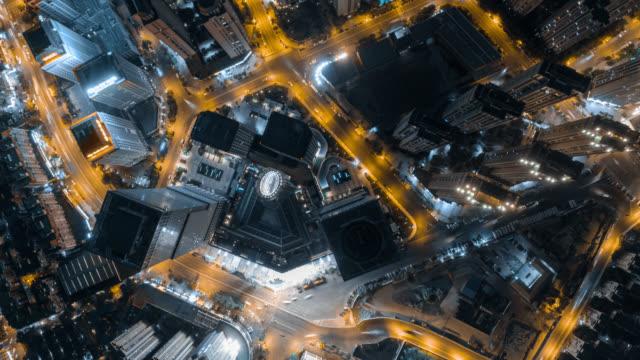 Hyperlapse of cityscape video