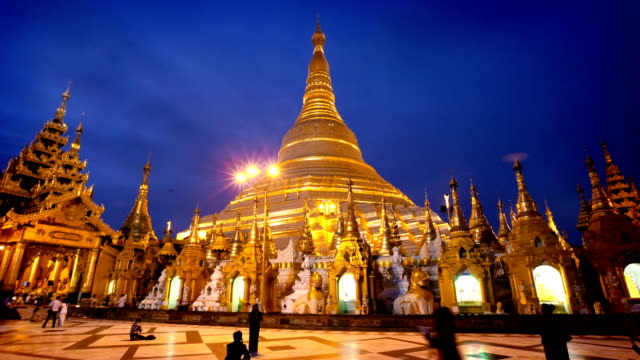 Hyperlapse of Shwedagon Temple, Yangon, Myanmar (Burma) video