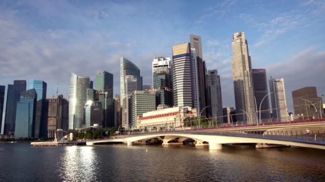 Hyperlapse of Singapore Skyline video