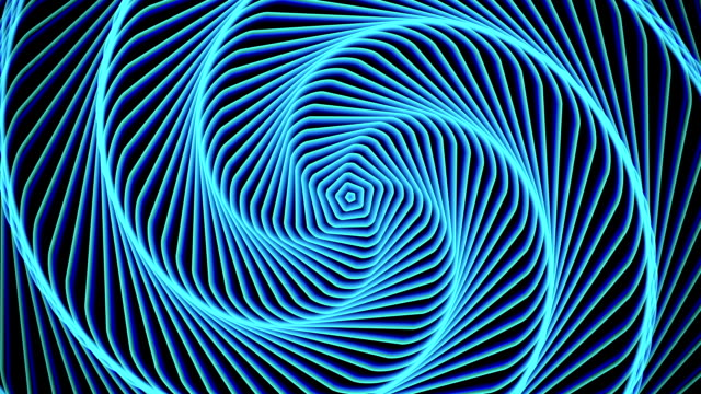 Hypnosis circle abstract background video