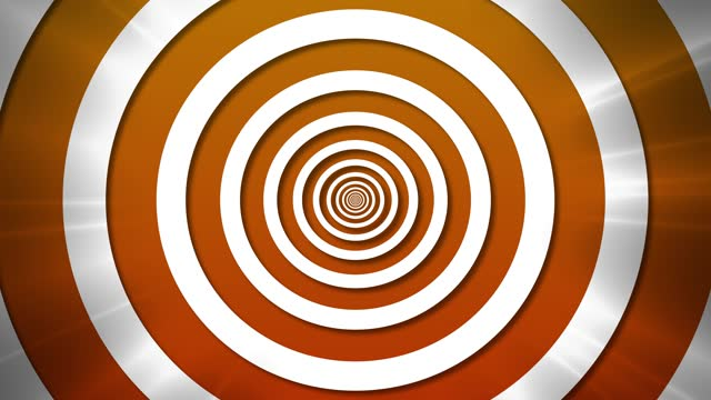 4K - Hypnotic spiral illusion background (loopable) - Zoom In