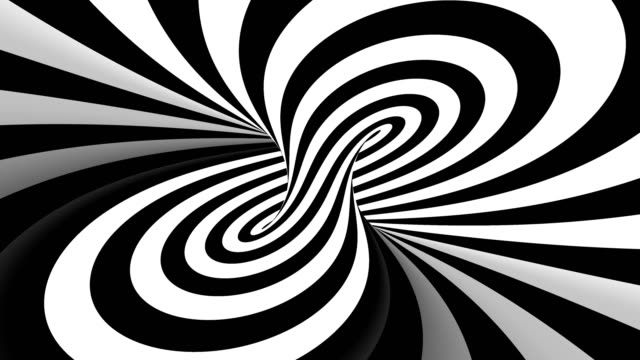 Hypnotic spiral illusion seamless looping Ultra HD Hypnotic spiral illusion seamless looping illusion stock videos & royalty-free footage