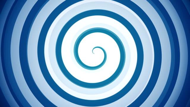 Hypnotic spiral video