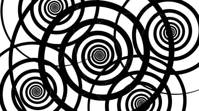 hypnotize motion abstract art background