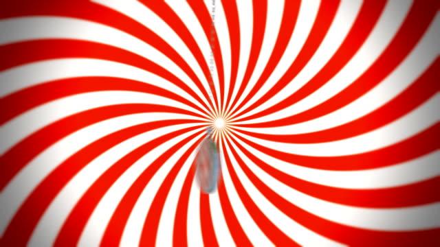 Hypnotizing pocket watch video