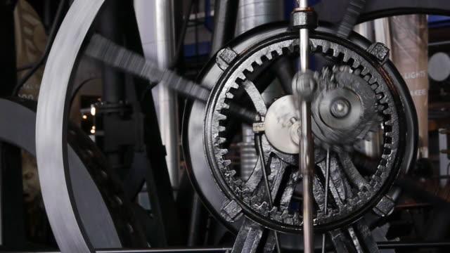 hypocycloidal ギアトレイン - 機械部品点の映像素材/bロール