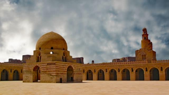 ibn tulun's sword is located in cairo, the capital of egypt. - рельефная резьба стоковые видео и кадры b-roll