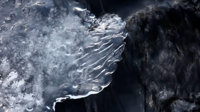 ice と水 - アルタイ自然保護区点の映像素材/bロール