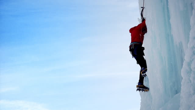 Ice climbing (HD 1080) video