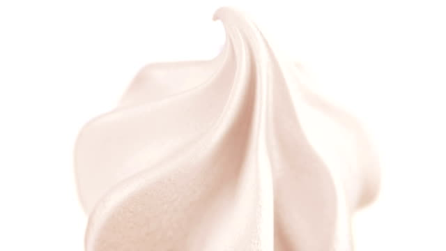 Ice Cream slowly rotating 360 degrees video