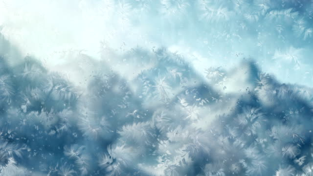 Ice Crystals Formation video
