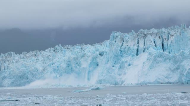 Ice Falling into Ocean