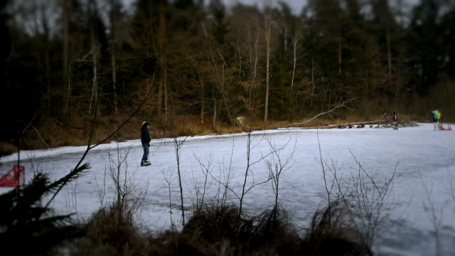Ice hockey video