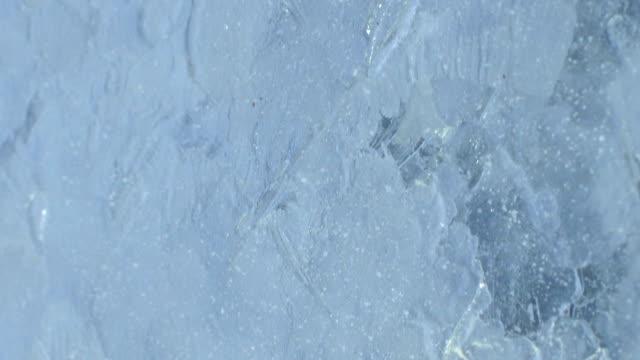 buz duvarı - donmuş su stok videoları ve detay görüntü çekimi