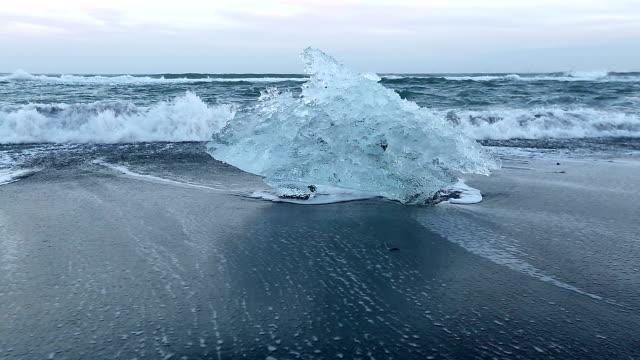 HD: Iceberg Beach Jokulsarlon lagoon Iceland HD: Iceberg Beach Jokulsarlon lagoon Iceland, 1920x1080 Format icecap stock videos & royalty-free footage