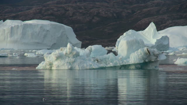 Iceberg calving in Greenland video