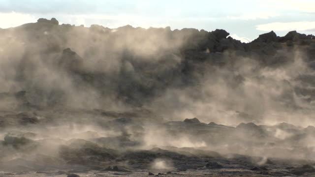Iceland: Geothermal Area, Myvatn, Krafla video