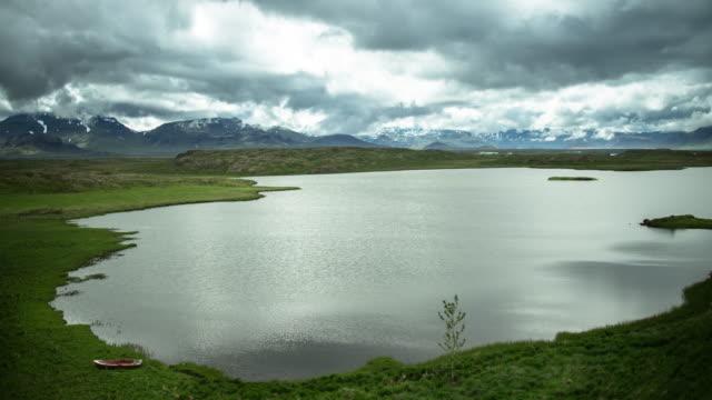 Icelandic Lake - Time Lapse video