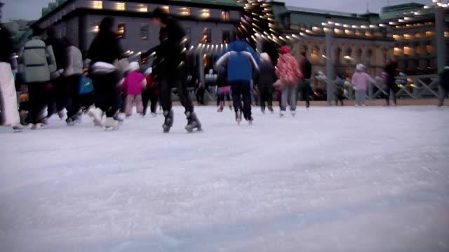 Ice-Skating video