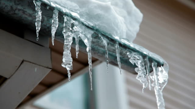 icicles melting video