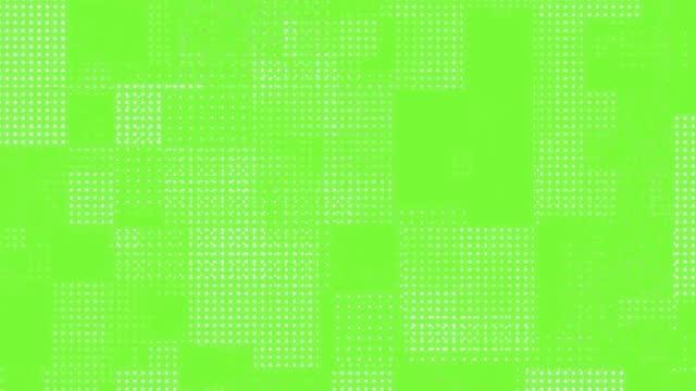 stockvideo's en b-roll-footage met pictogramrastran abstran te pictogram afbeeldingsachtergrond pop - halftint