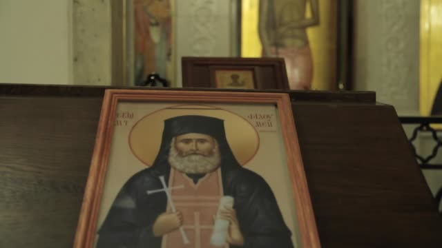 Icon in the Church video
