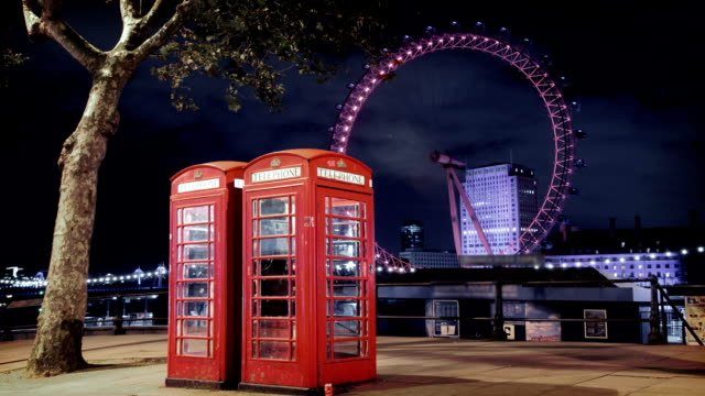 Iconic Phone Booths in London video